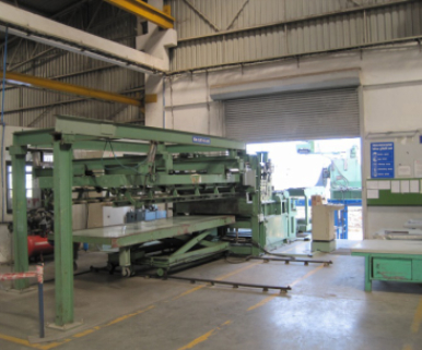 Automatic Coil Loading, Straightening